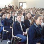 Les élèves du collège saint Michel
